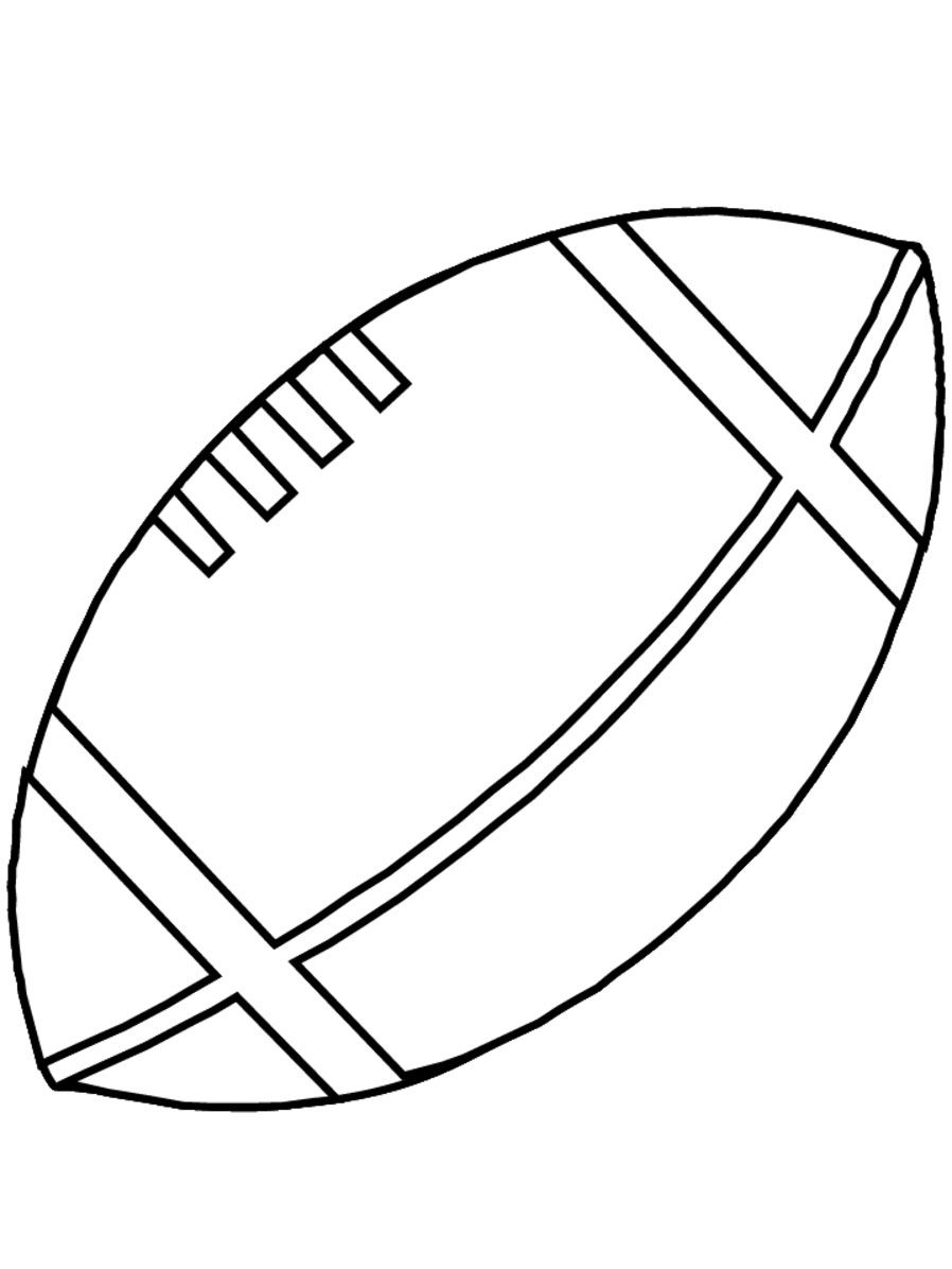 Football Coloring Pages For Kids Coloring Pages For Boys Sports