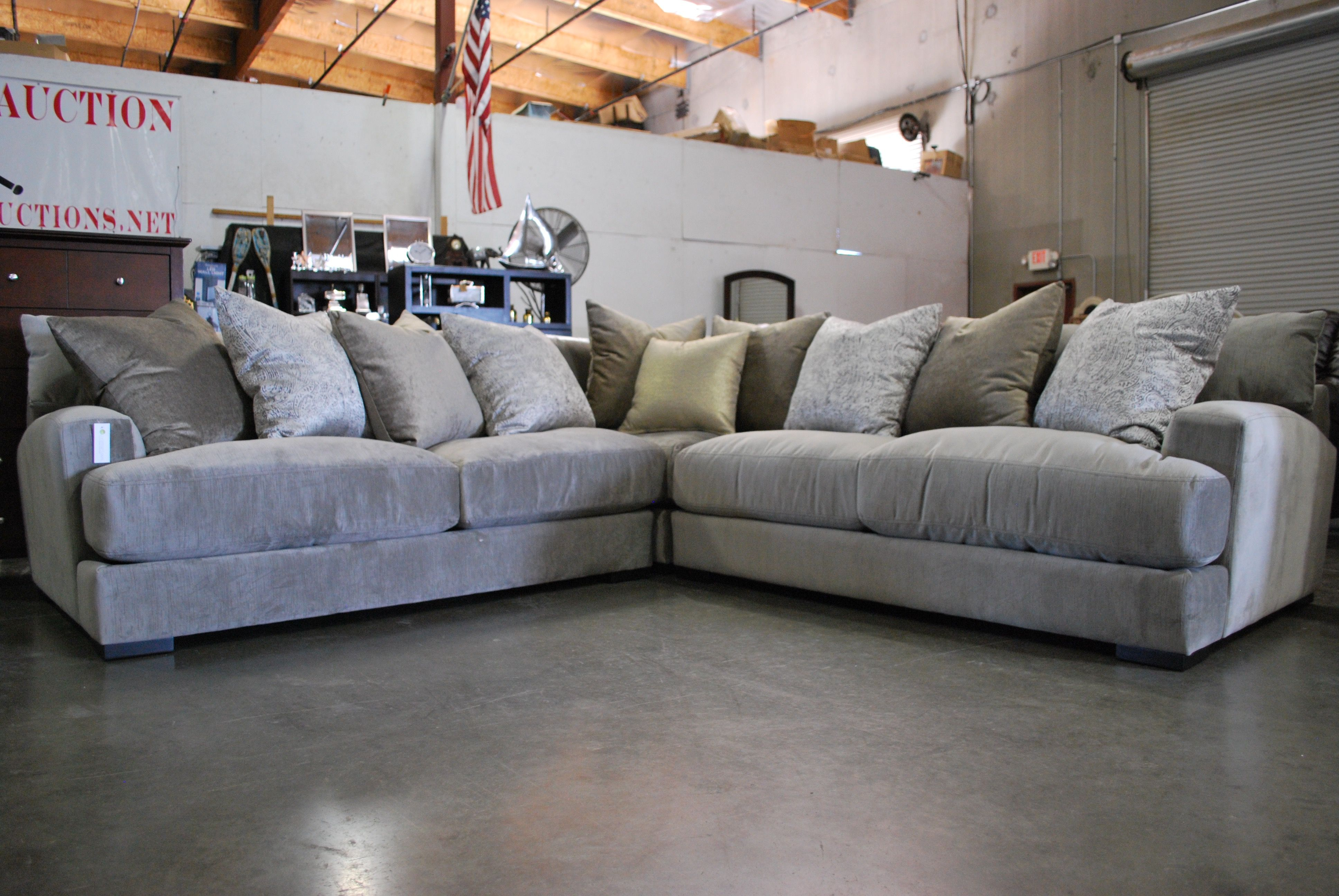 Another gorgeous Jonathan Louis sectional that you just melt into