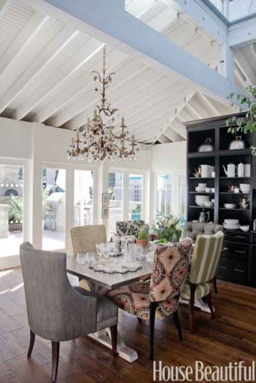 Mismatched Dining Chairs House stuff Pinterest