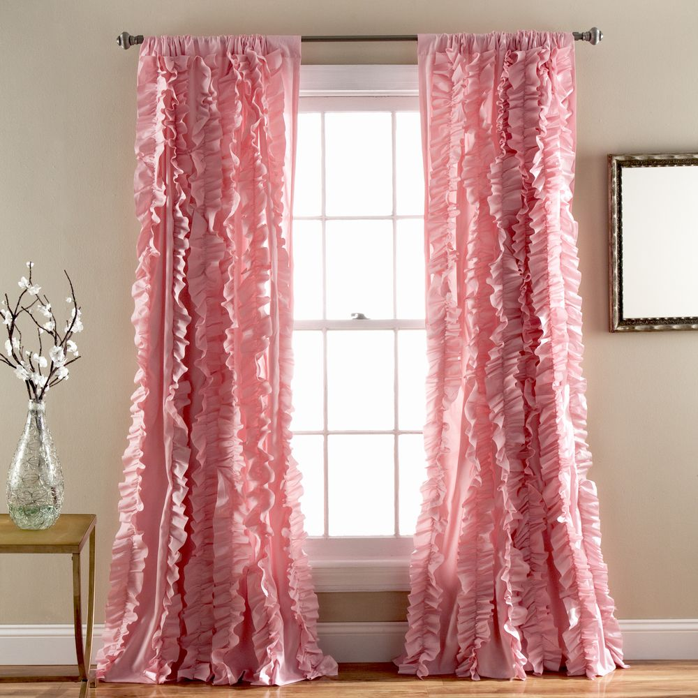 Lush Decor Belle 84 Inch Curtain Panel Ping Great Deals On