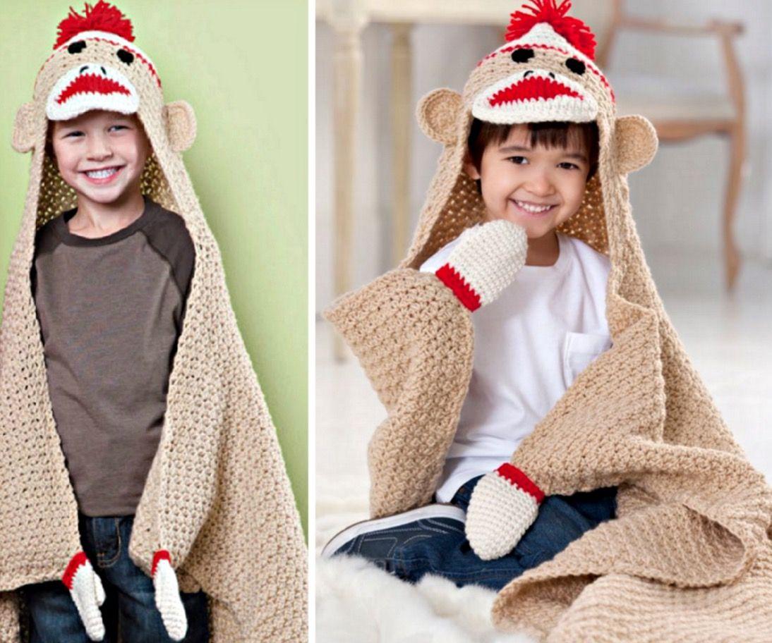 Sock monkey blanket crochet pattern sock monkeys blanket sock monkey blanket crochet pattern bankloansurffo Images