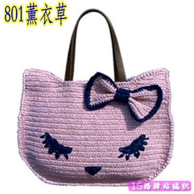 Crochet: hola gatito bolsa | BOLSOS A CROCHET | Pinterest | Hola ...