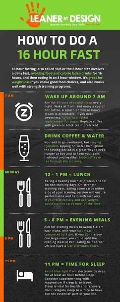 16 hr fasting diet