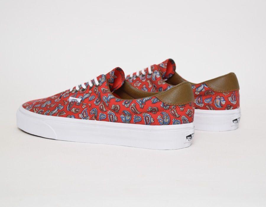 473f6966b9 Vans Era 59 Paisley - Red  sneakers