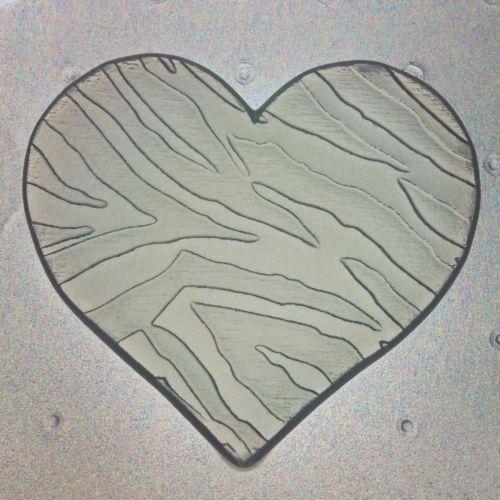 Flexible Heart Shaped Zebra Print Resin or Chocolate Mold | eBay