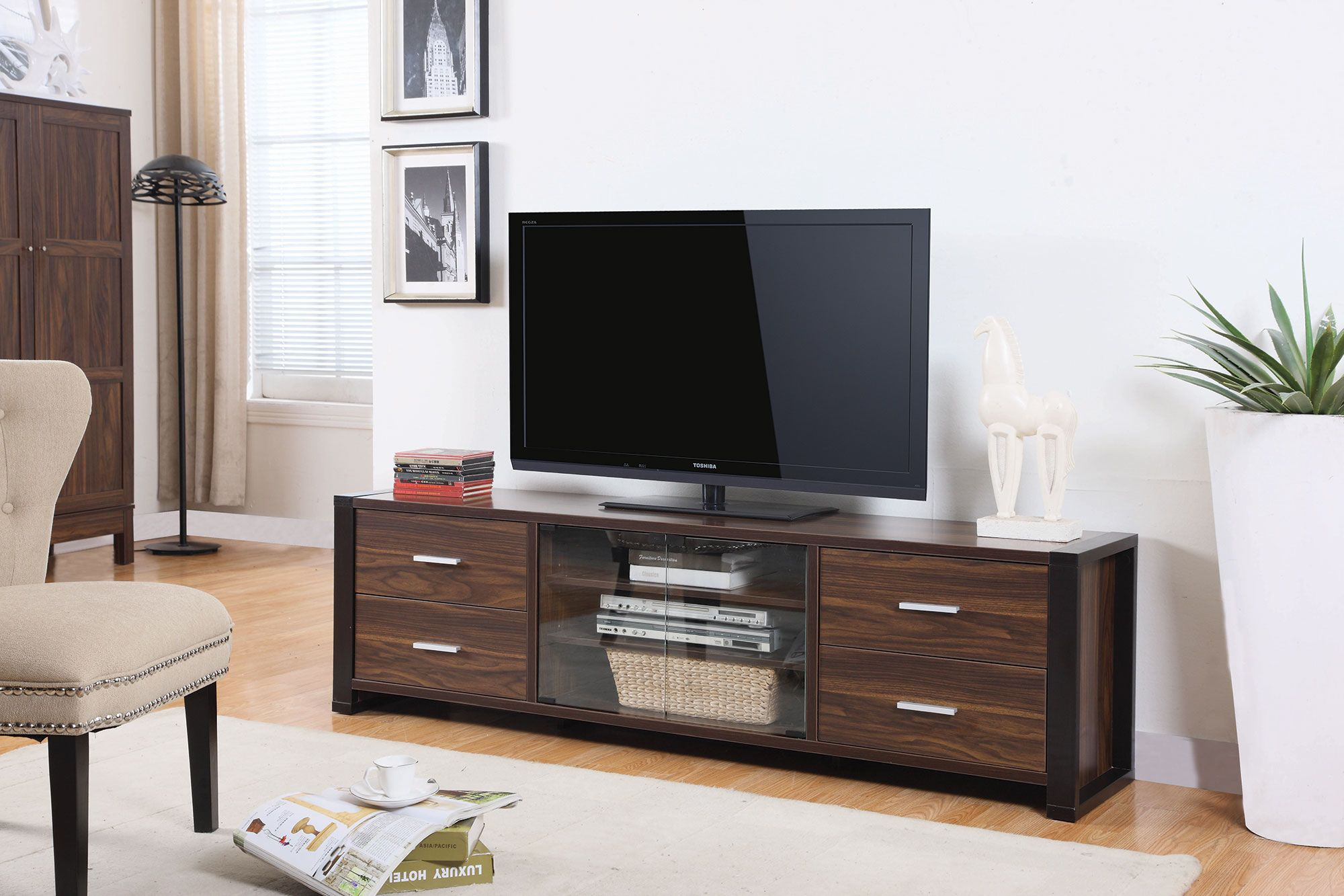 Lisa 700491 Tv Stand Glass Tv Stand Tv Stands And Fine Furniture # Muebles Coaster