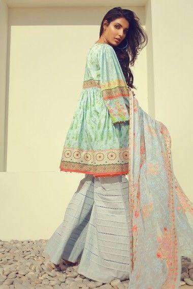 Pin by Bya Sam on Lawn Styles 2018 | Fashion, Short frocks, Pakistani street style