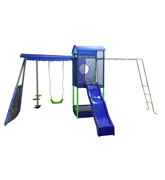 Kmart Playsafe Nepean Swing Set With Sandpit Monkey