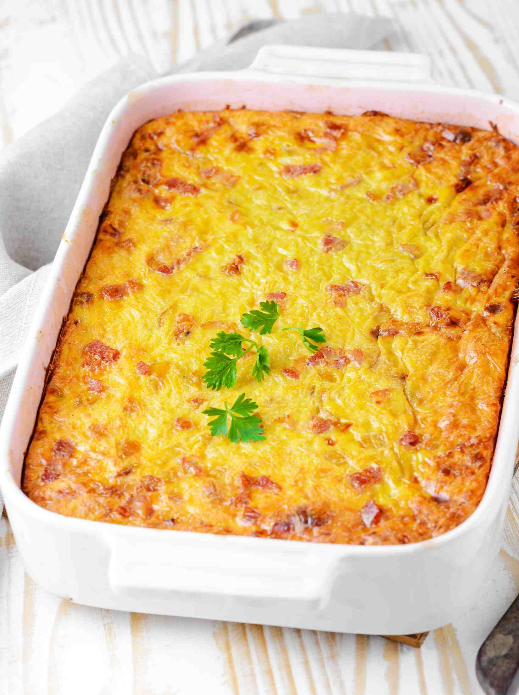 Lithuanian Savory Potato Pudding Known As Kugelis Is A National Dish Recipe Kugelis Recipe Potato Pudding Lithuanian Recipes