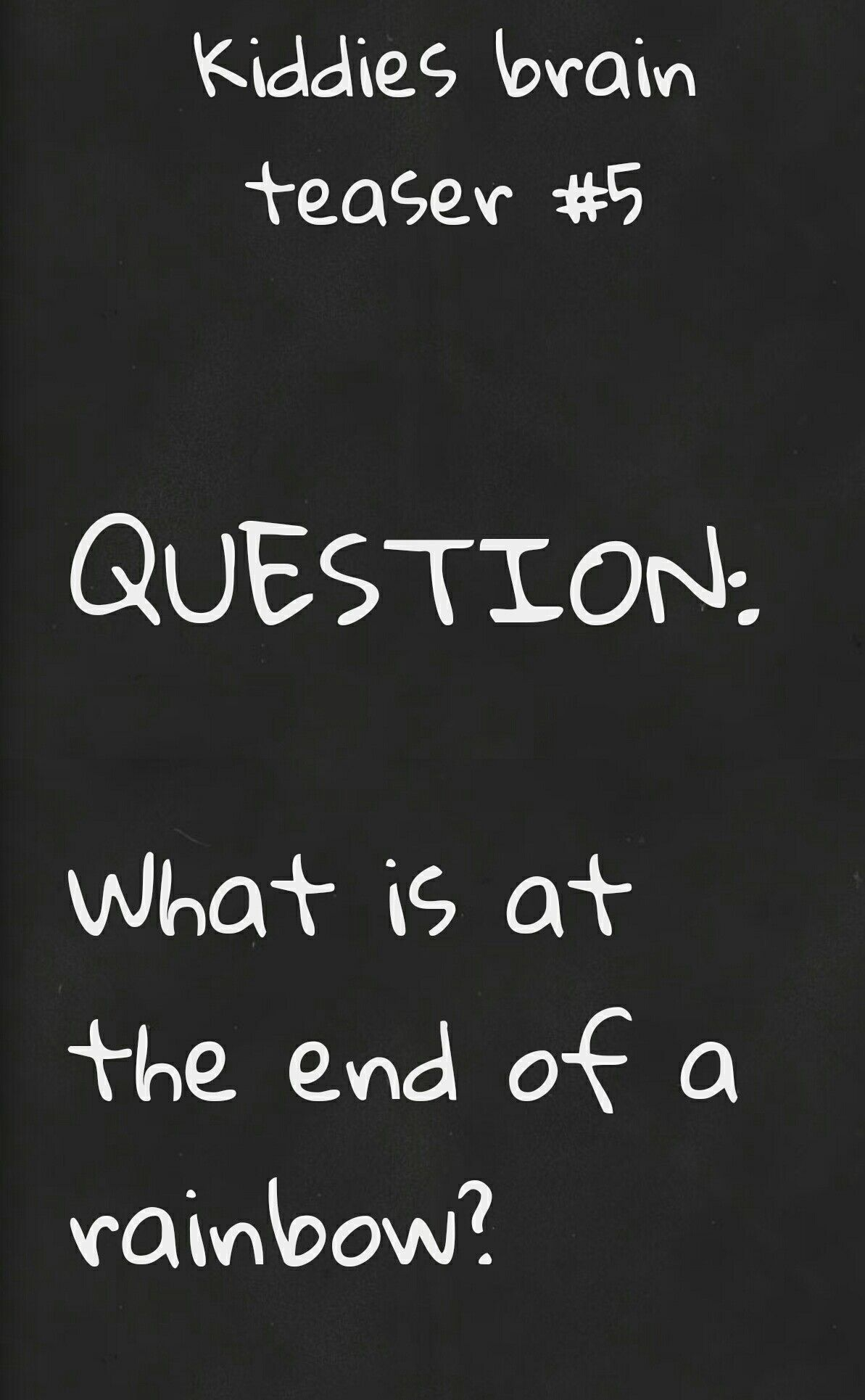 riddles with answers. #smart#kids#lovethese