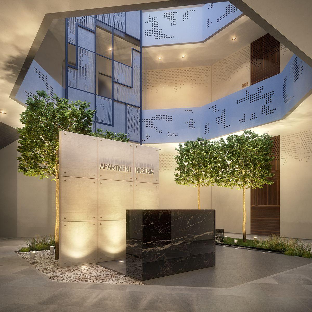 Luxury Apartment West Africa On Behance