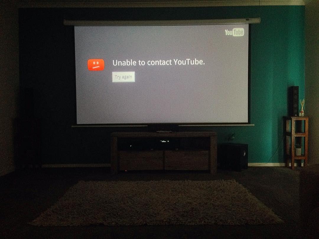 Ahhh the irony of having a kick ass home cinema... but lousy ...