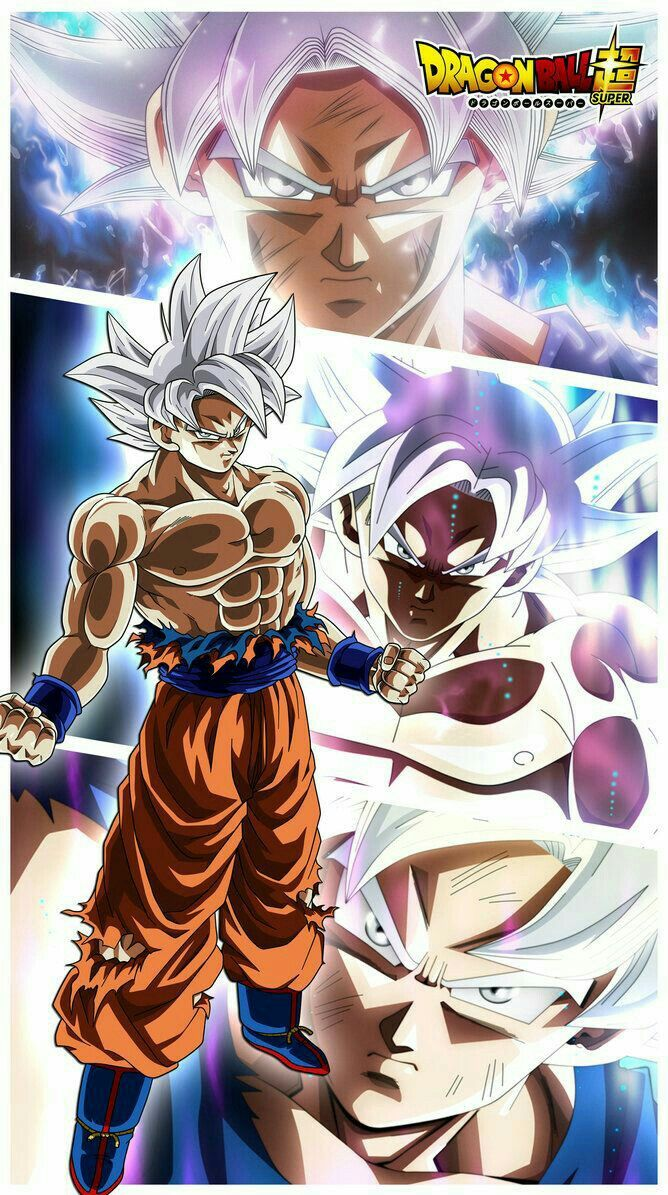 Goku Instinto Superior Personajes De Dragon Ball Dragon Ball Gt Personajes De Goku