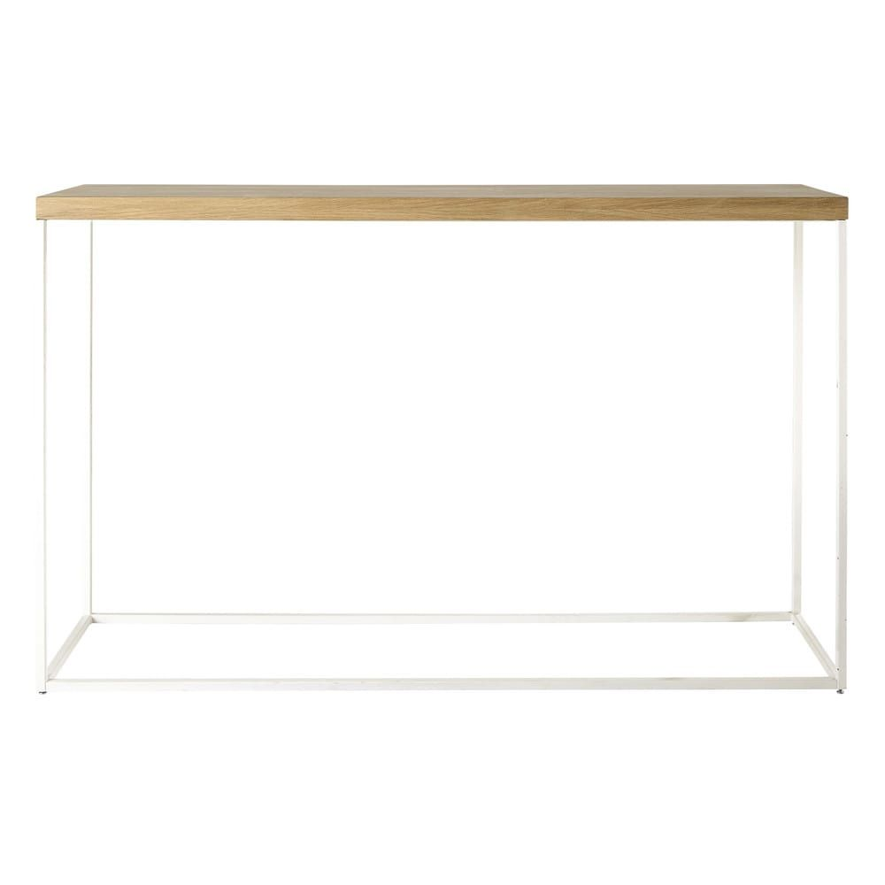 Consolle bianco | Solid oak, Console tables and Consoles