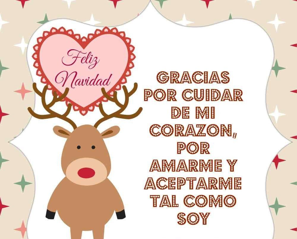 Imagenes de amor para navidad tarjetas navide as con - Feliz navidad frases ...