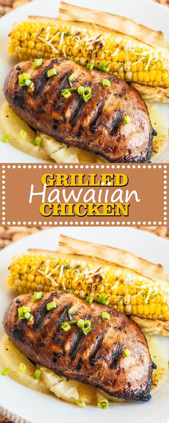 GRILLED HAWAIIAN CHICKEN - Food Recipes #hawaiianfoodrecipes GRILLED HAWAIIAN CHICKEN - Food Recipes #hawaiianfoodrecipes