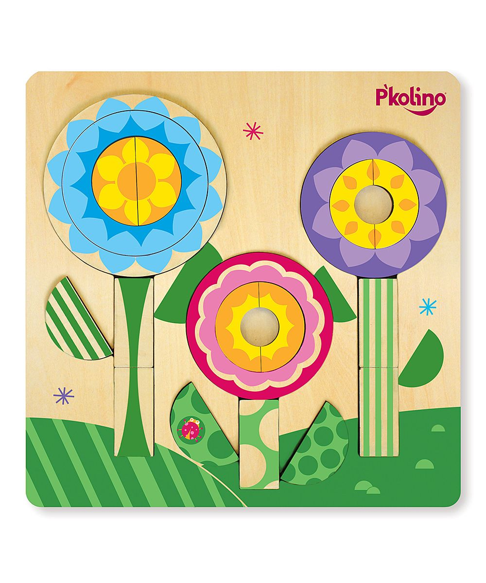 Flower Multi-Solution Double-Sided Puzzle