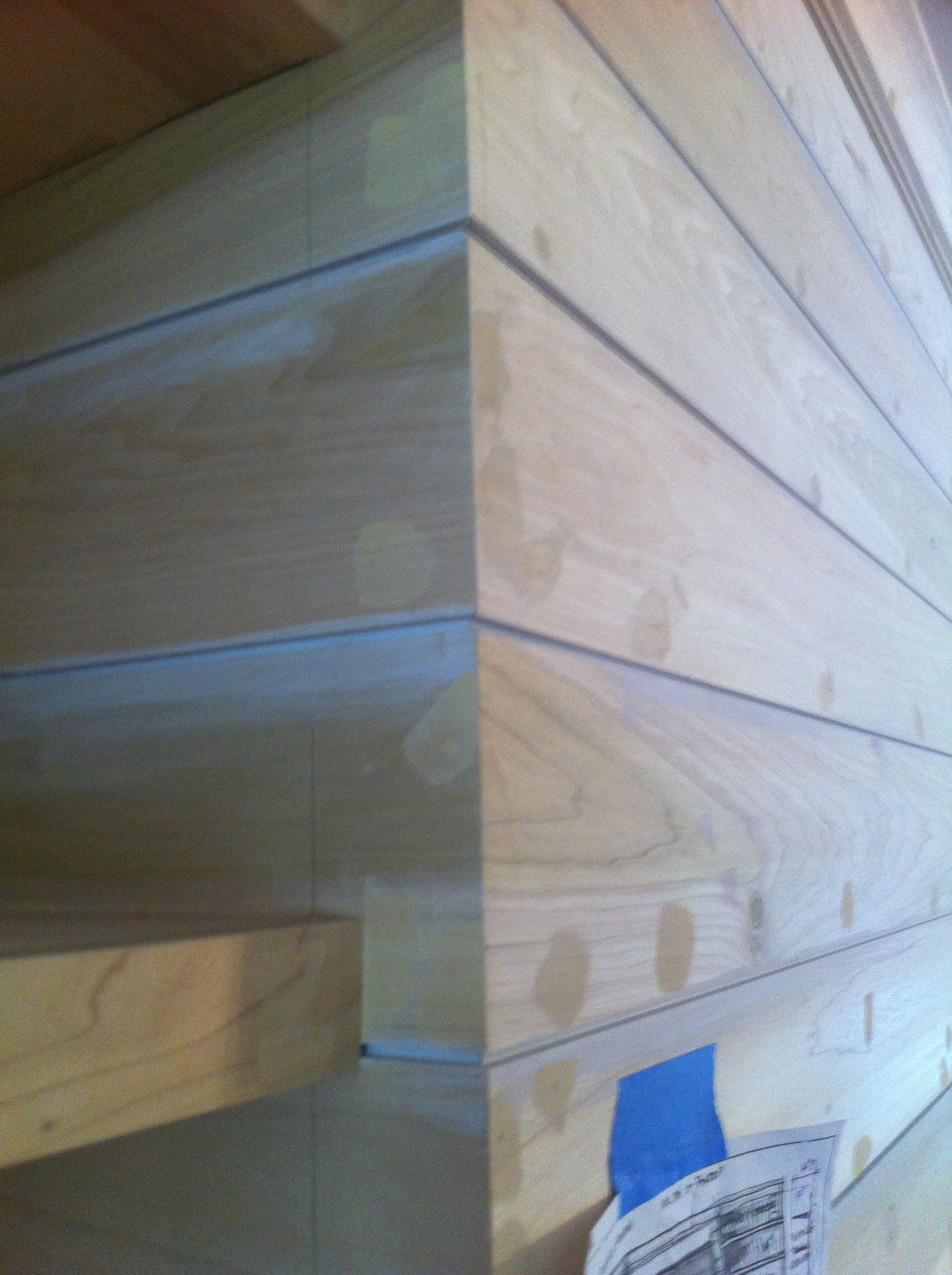 Example Of Shiplap Boards Rather Than V Groove More