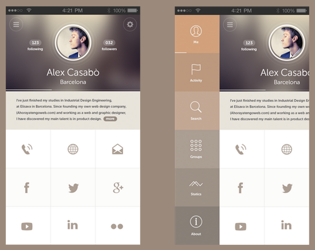 20 stunning examples of minimal mobile ui design econsultancy - Ui Design Ideas
