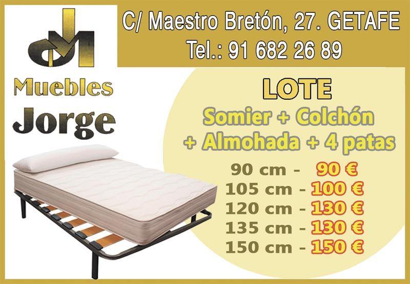Muebles Jorge Muebles Somier Getafe