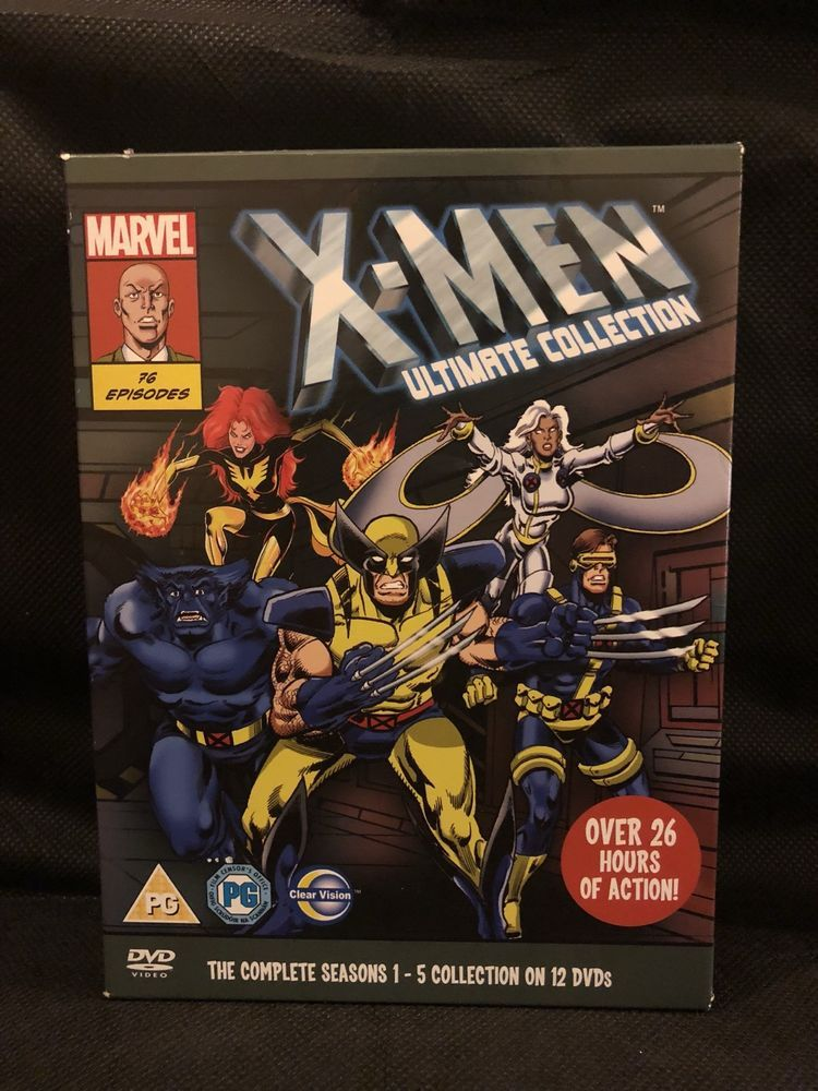 Marvel X Men Complete Animated Series 1 5 Ultimate 12 Dvd Box Set 2011 Boxset Animation Series Family Guy Season