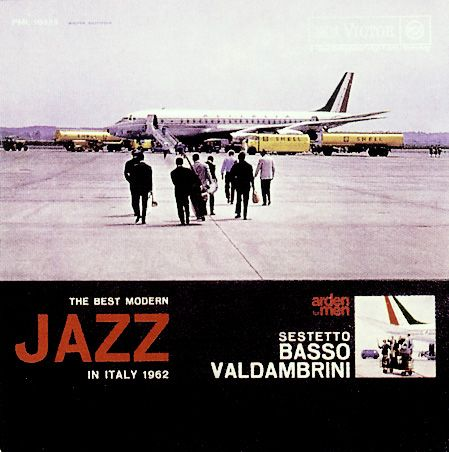 Jazz in Italy - rare record album covers