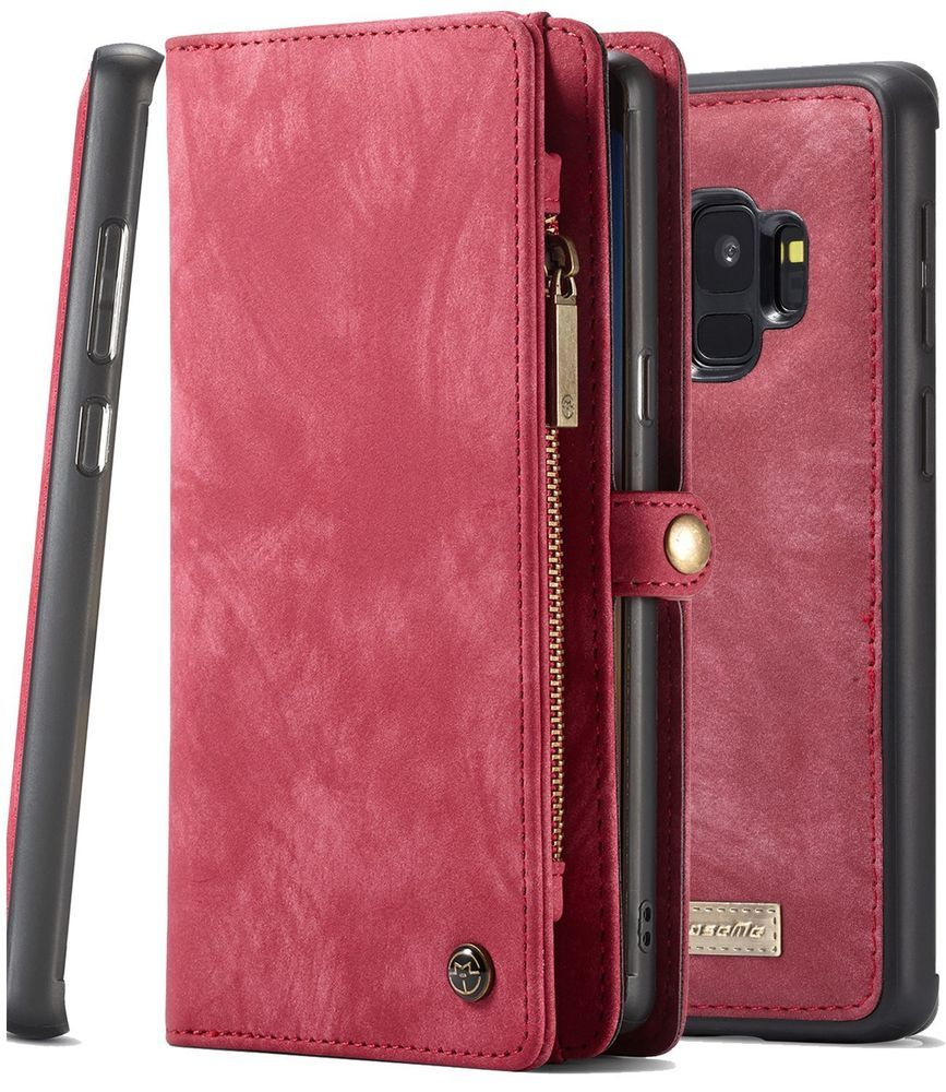 Galaxy s9 wallet phone detachable case back cover