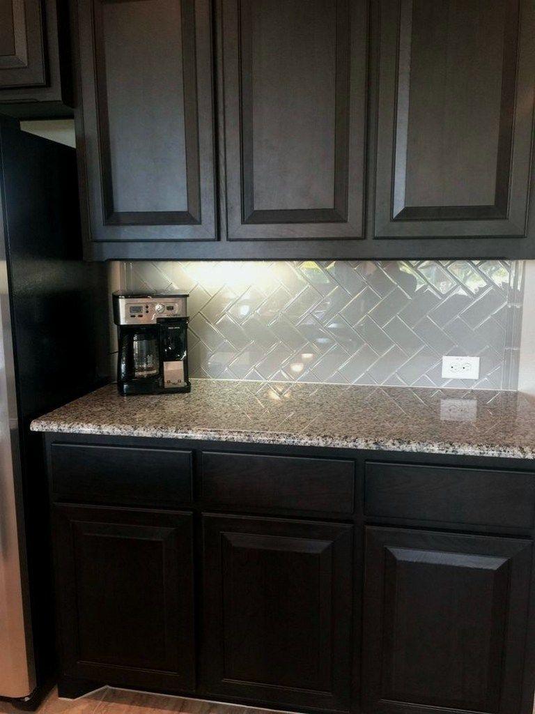 28+ kitchen backsplash with dark cabinets decor ideas ... on Backsplash With Dark Countertops  id=83105