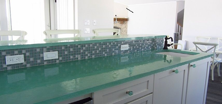 Recycled Material Countertops For Kitchen O2 Pilates