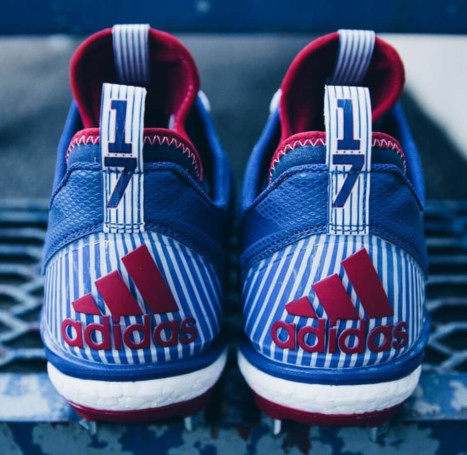 What Pros Wear Kris Bryant's adidas Boost Icon 2 Cleats What Pros Wear