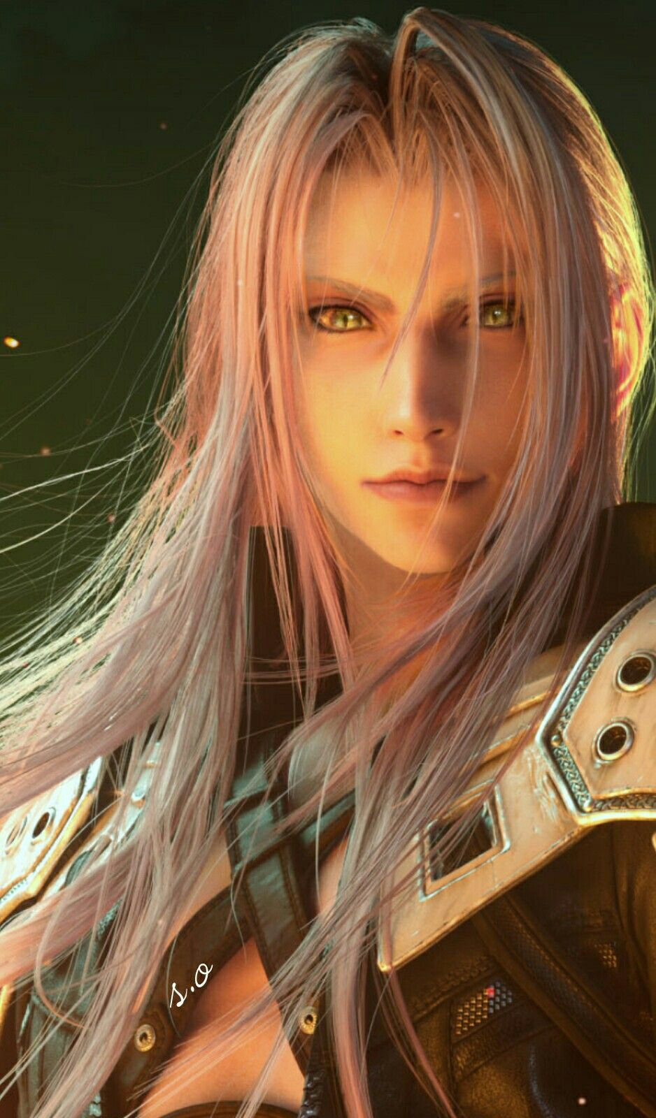 Ffvii Remake Sephiroth Final Fantasy Sephiroth Final Fantasy Characters Final Fantasy Tattoo