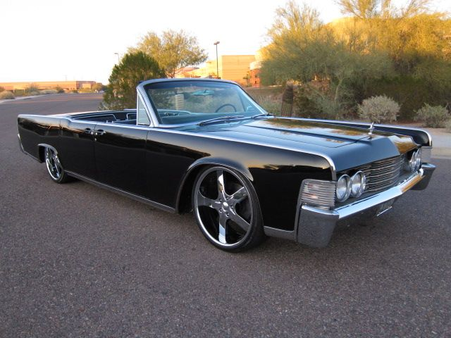 1965 Lincoln Continental Convertible Perhaps One Of The Most