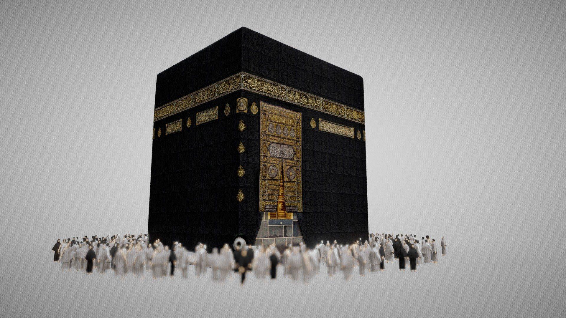 Holy Kaaba by kaaba | 3D Models | Masjid al haram, Mosque, Model