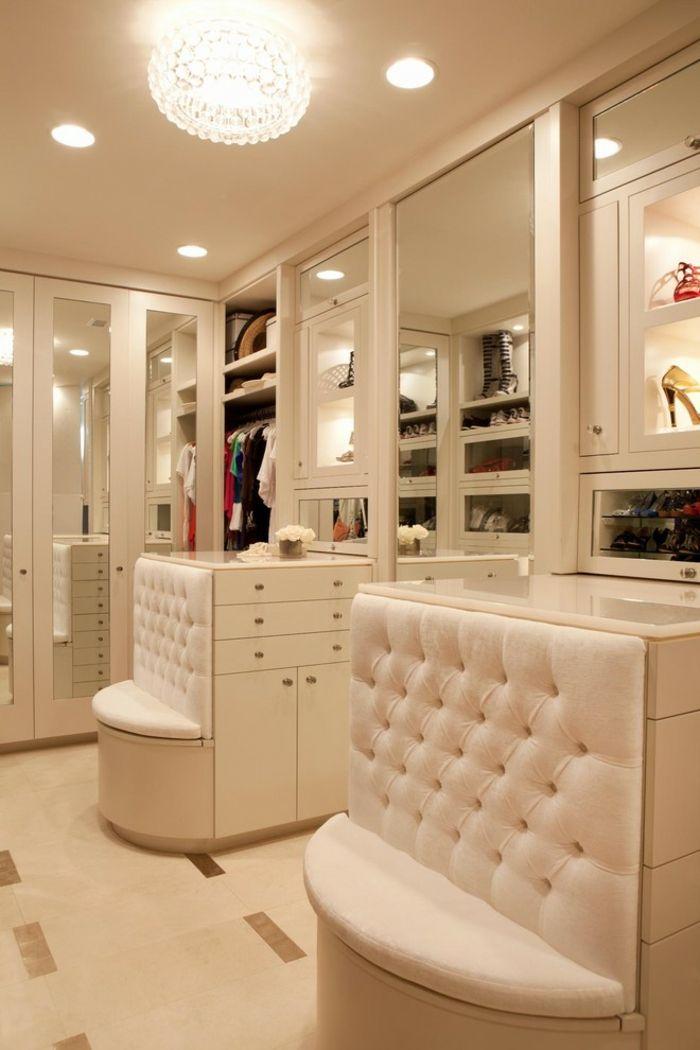 Begehbarer kleiderschrank luxus  Offener begehbarer Kleiderschrank System Luxus Ankleide | Dreams and ...