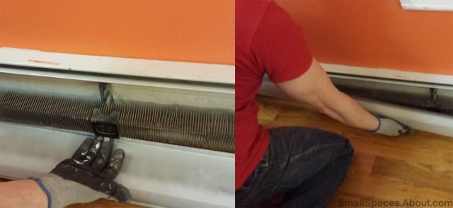Step By Step Instructions For Baseboard Radiator Cover Removal Baseboard Radiator Removing Baseboards Radiator Cover