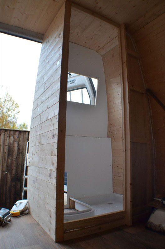 Sprinter Van Bathroom Kit: DIY Campervan Conversion Photos