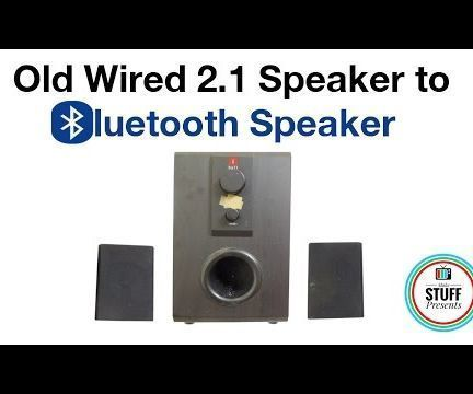 How to Convert Speakers