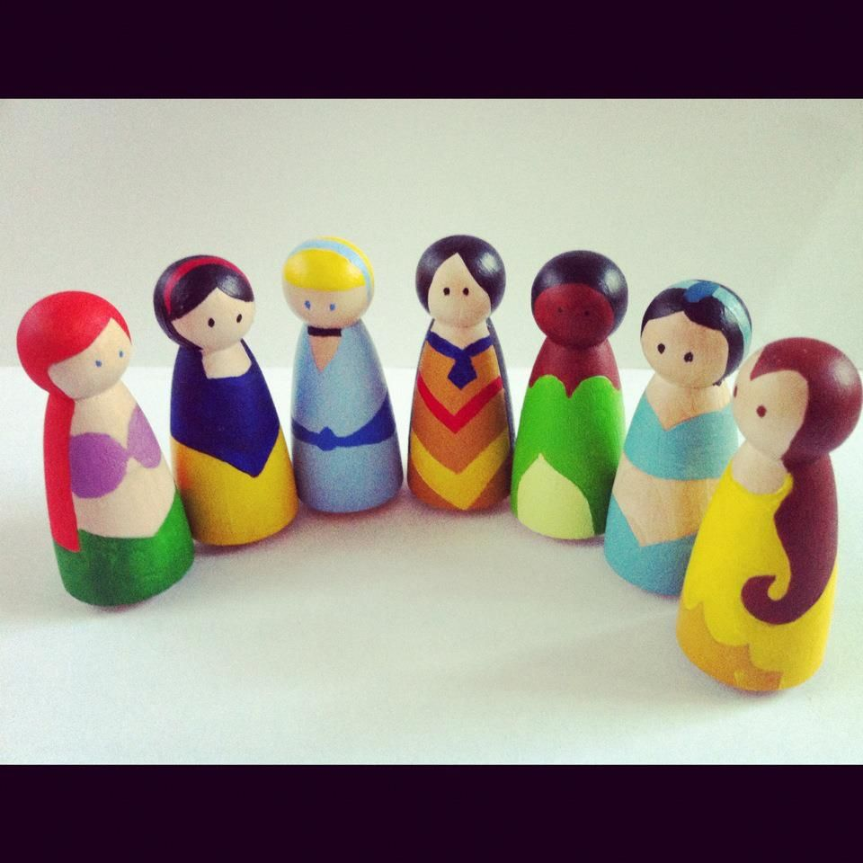 I Could Totally Make This: Disney Princess Figurines... No Steps But I Could Totally
