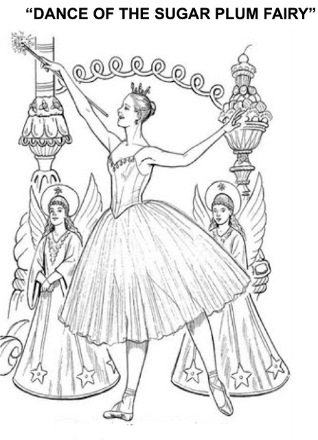 Beth's Music Notes: Nutcracker-1st grade; Coloring Pages