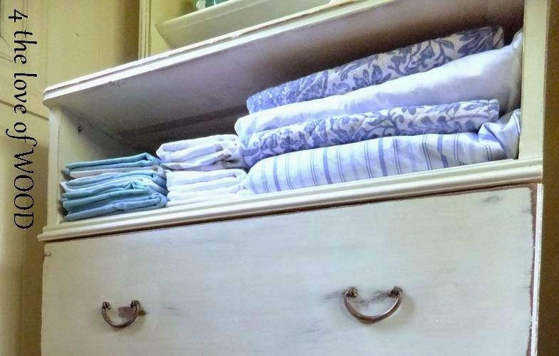 4 the love of wood: TURN A MISSING DRAWER into an OPEN SHELF