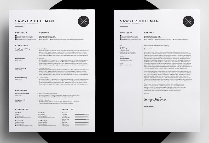 Freelance Resume  Design    Cv Resume Template