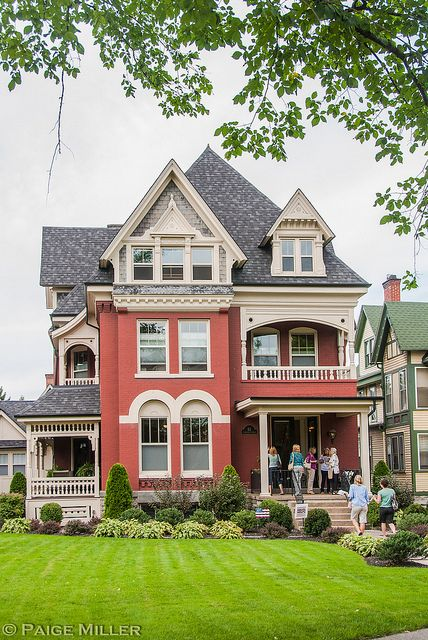 Buffalo Ny Old Houses Victorian Homes Victorian Style Homes