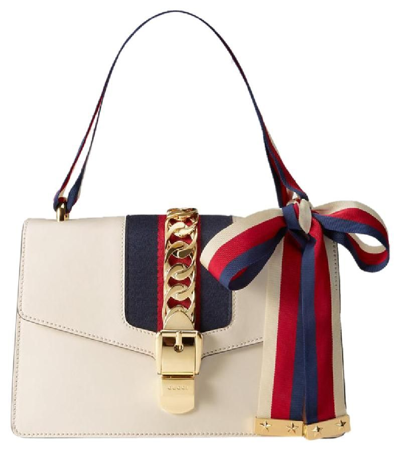 1b9e4944a7d Get one of the hottest styles of the season! The Gucci Medium Sylvie  Leather Shoulder Bag is a top 10 member favorite on Tradesy.