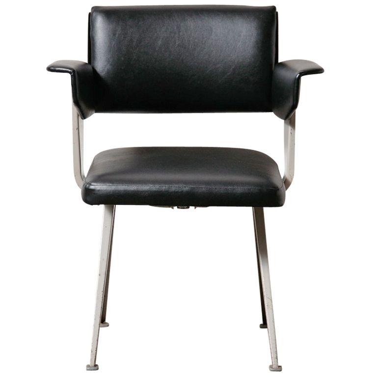 "Friso Kramer ""Resort"" Office Chair // Holland 1960"