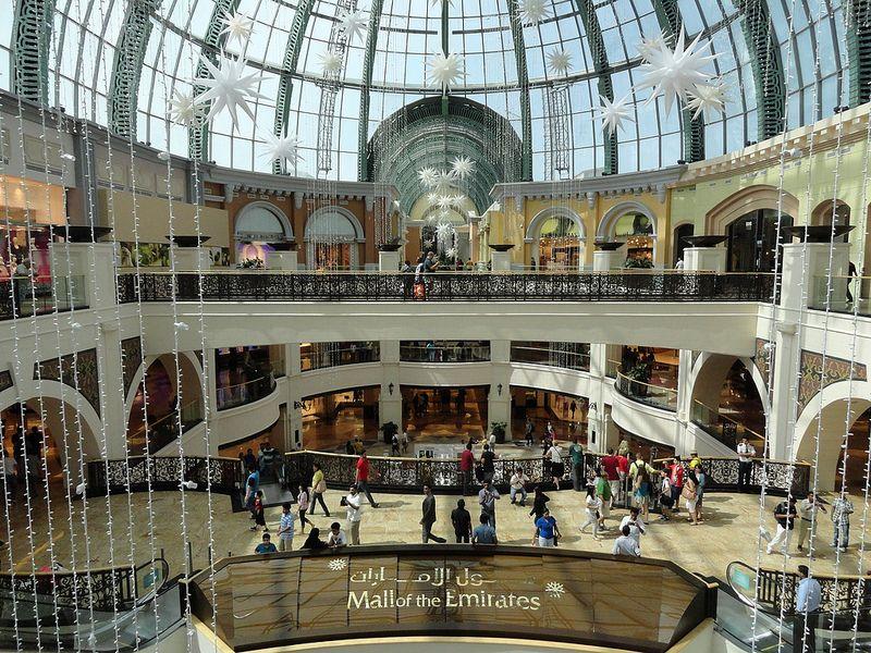 Mall Of The Emirates Dubai Dubai Shopping Dubai United Arab Emirates