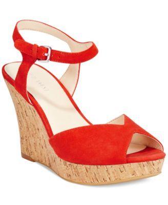 Platform wedge sandals, Platform wedges
