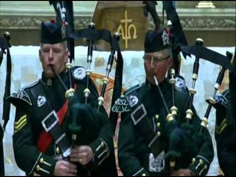 Public Domain Amazing Grace Bagpipes Played For Canadian Solr Cpl Crying Buckets