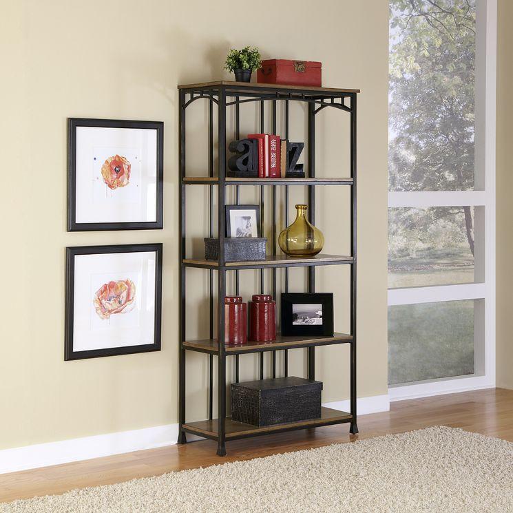 Modern Craftsman 5 Tier Multi-Function Shelves