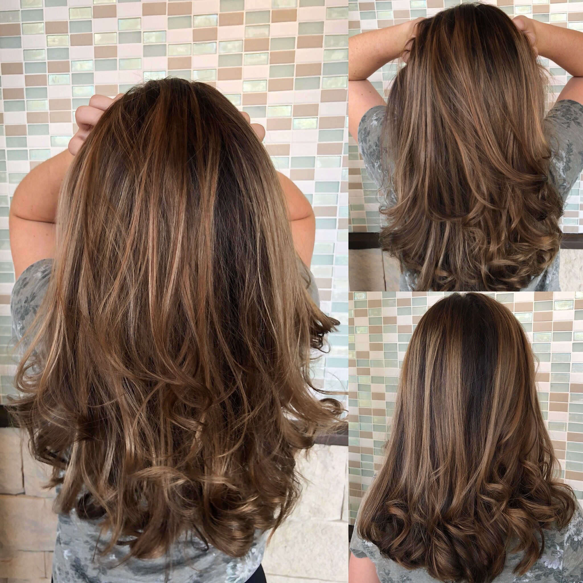 Neutral Highlights Long Hair Styles Hair Styles Beauty