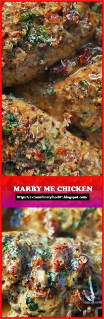 Marry Me Chicken | Extra Ordinary Food #marrymechicken